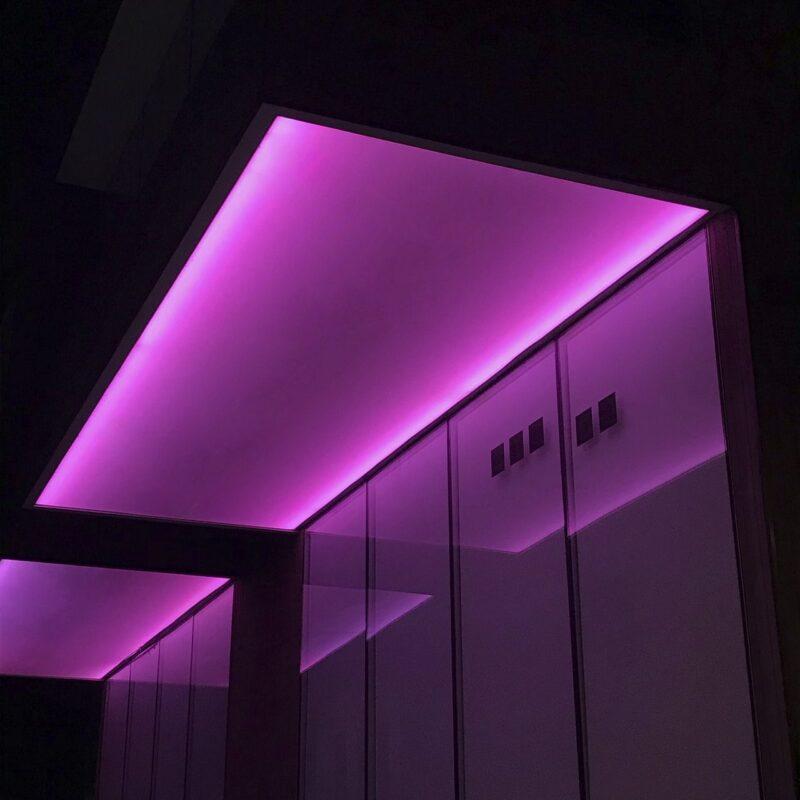Alpha LED als Deckenbeleuchtung