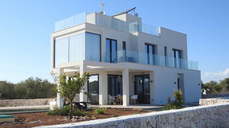 Glas Geländer - Freistehendes Haus