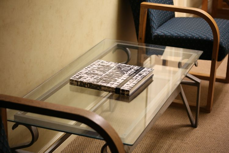 Möbel aus Glas