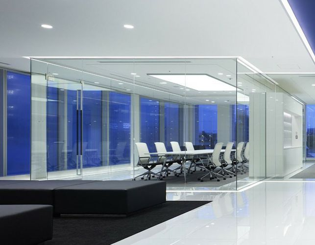 Besprechungszimmer aus Glas