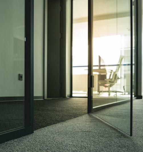 Türen aus Glas