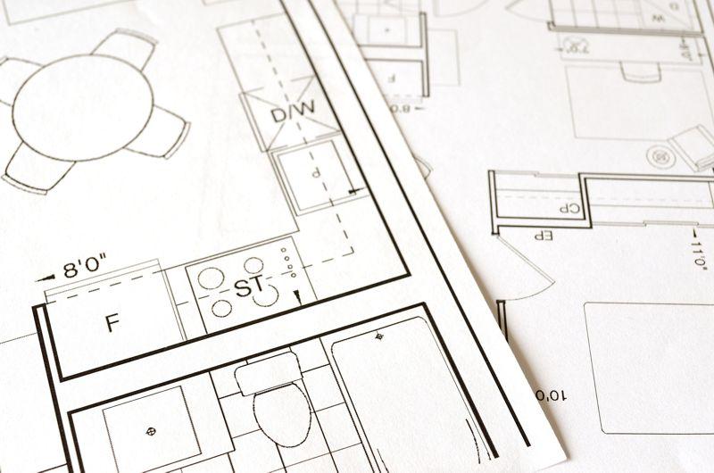 Erstellung einer Konstruktionszeichnung für die Beratung